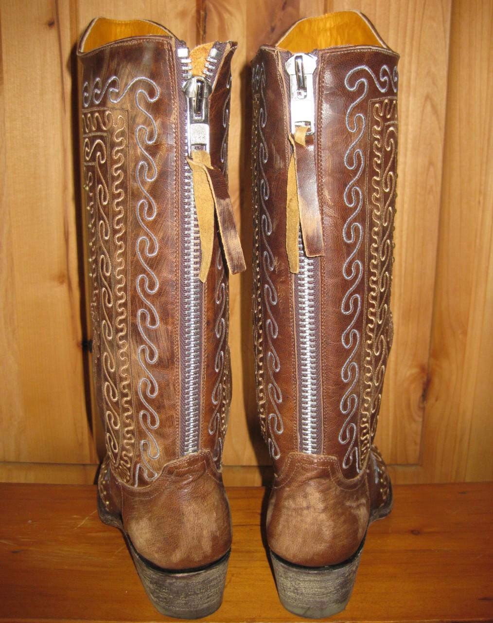 Old Gringo Zarape Razz Boots