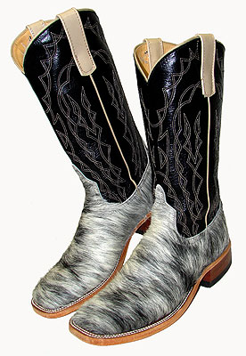 Anderson Bean Blue Roan cowboy boots