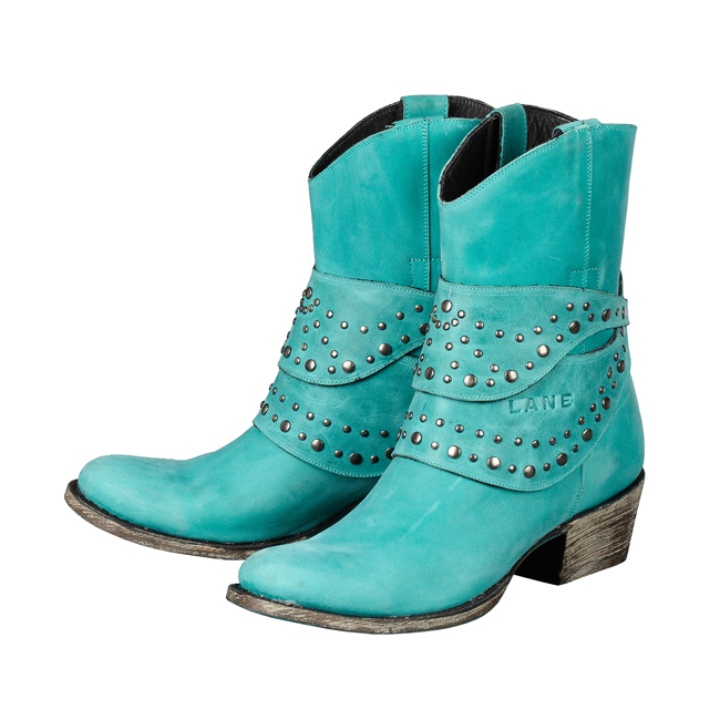 Talah in Turquoise by Lane Boots