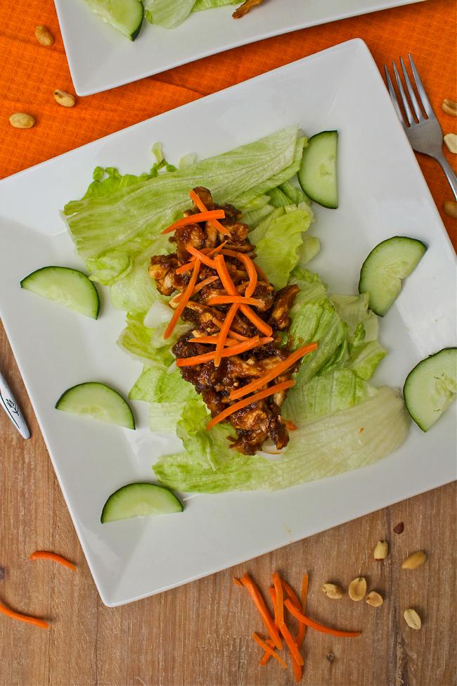 Shredded Chicken & Peanut Salad Recipe