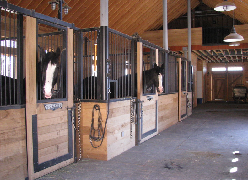 Shire Stables inside