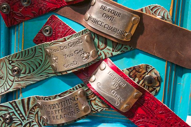 Kender West Leather Cuffs