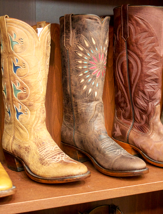 Rios of Mercedes vintage style cowboy boots