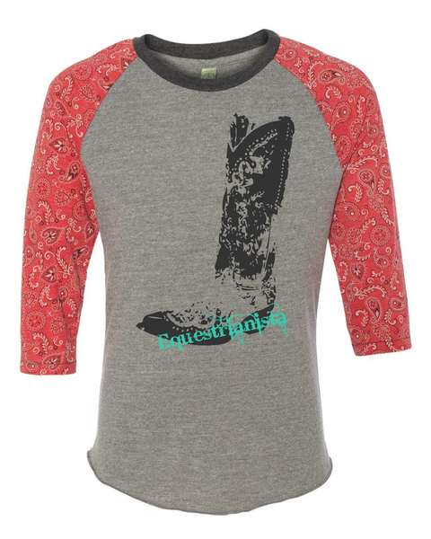 Equestrianista Cowboy Boot Tee Giveaway
