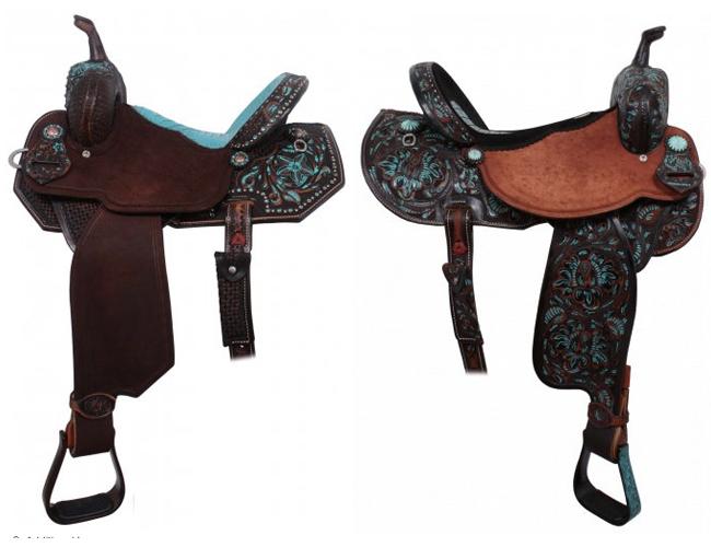 10 Turquoise Saddles by Double J