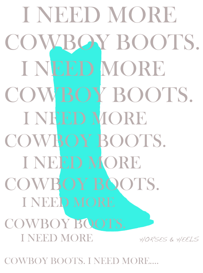 Every Pair of Cowboy Boots Tells a Story