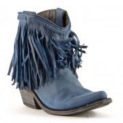 Liberty Black Russian Blue Cowboy Boots