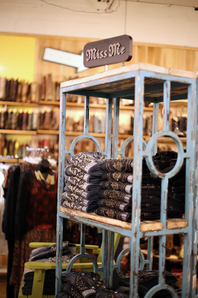 Classy CrossRoads Boutique Denim Selection