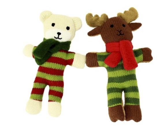 Plush Holiday Dog Toys