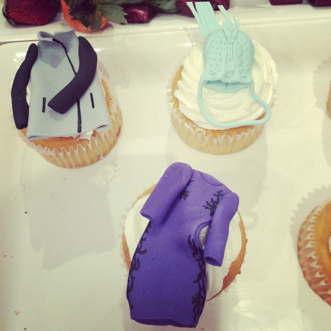 Cupcakes at Foravi, Stella and Jamie Trunk Show