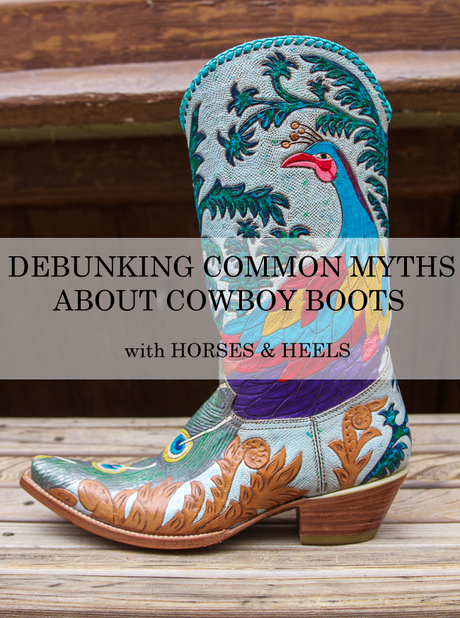 Debunking Common Myths About Cowboy Boots