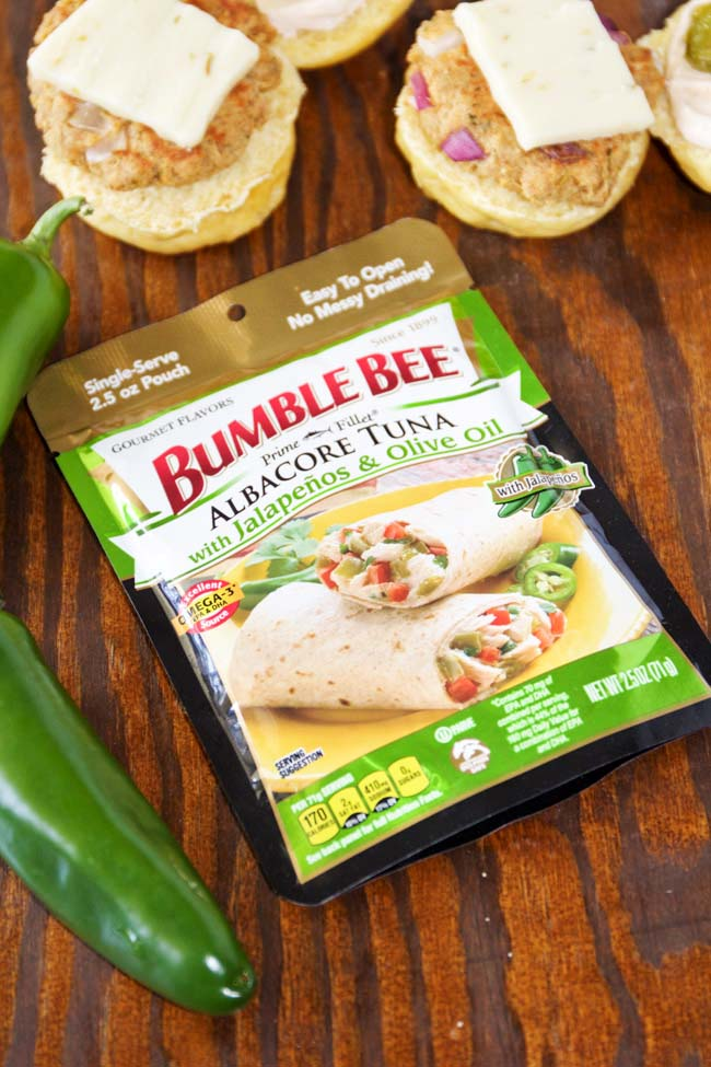 Bumble Bee Albacore Tuna with Jalapenos and Olive Oil