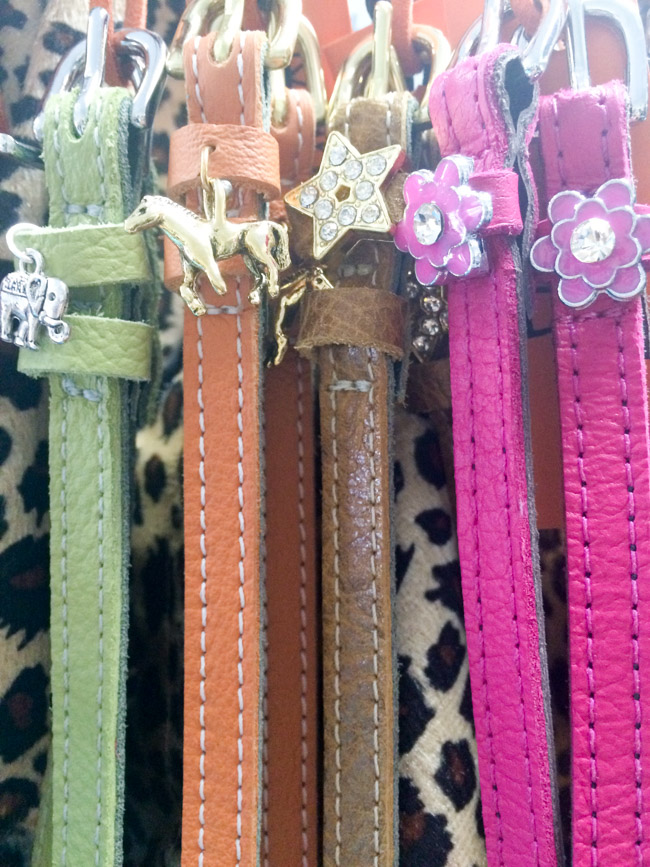 Colorful ManeJane Spur Straps