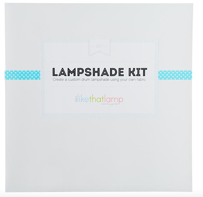 i like that lamp DIY lampshade kit