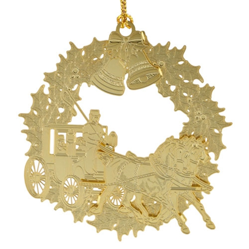 Horse & Buggy Ornament