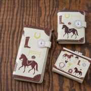 Adorable equestrian print accessories