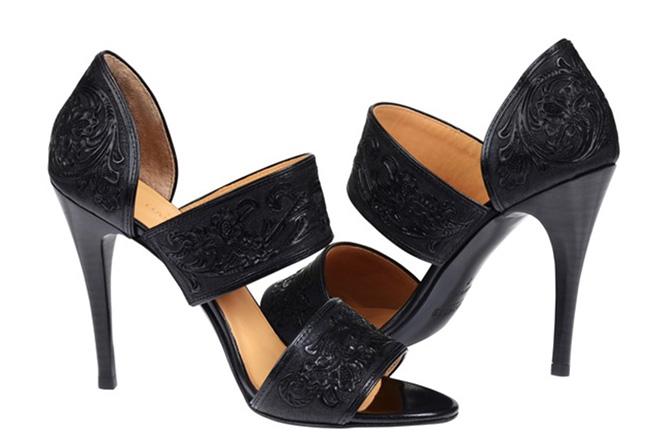 Lucchese Rose sandal in black