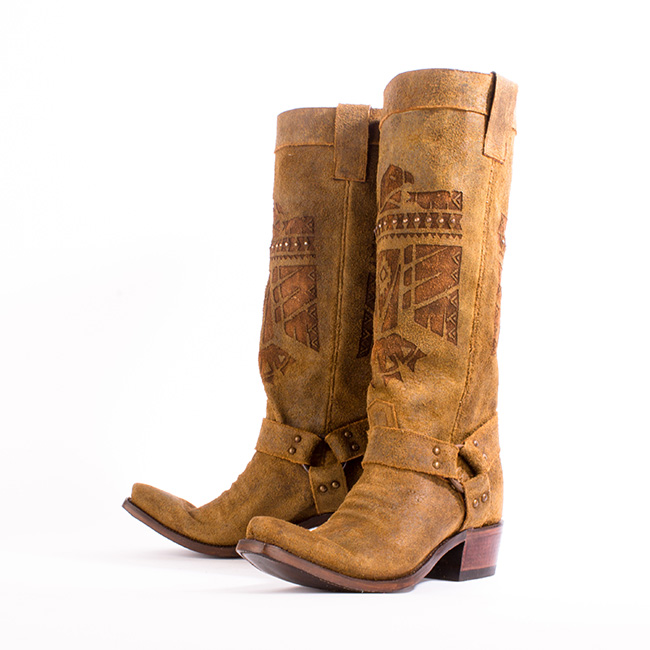 She Who Is Brave cowboy boots by Junk Gypsy