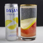 Sparkling Lemon Watermelon Mocktail