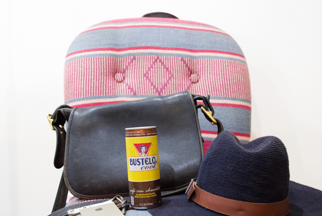 Bustelo Cool Café Con Chocolate Flavored Coffee Drink on the go