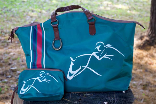 Georgia Horseback weekender tote