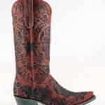Old Gringo Klak Boots in Vesuvio Red